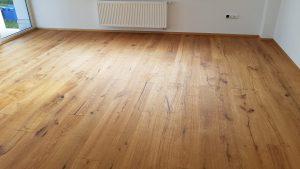 Fußboden im Wohnraum