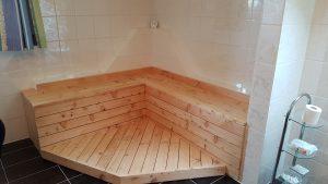 Badezimmer Sitzecke