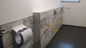 Innenausbau WC-Anlage